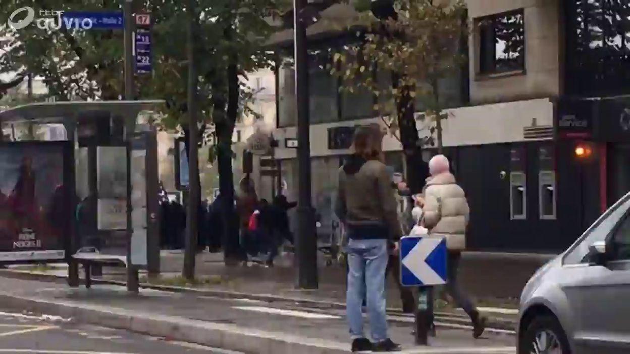 Violences à Paris en marge de la manifestation des gilets jaunes