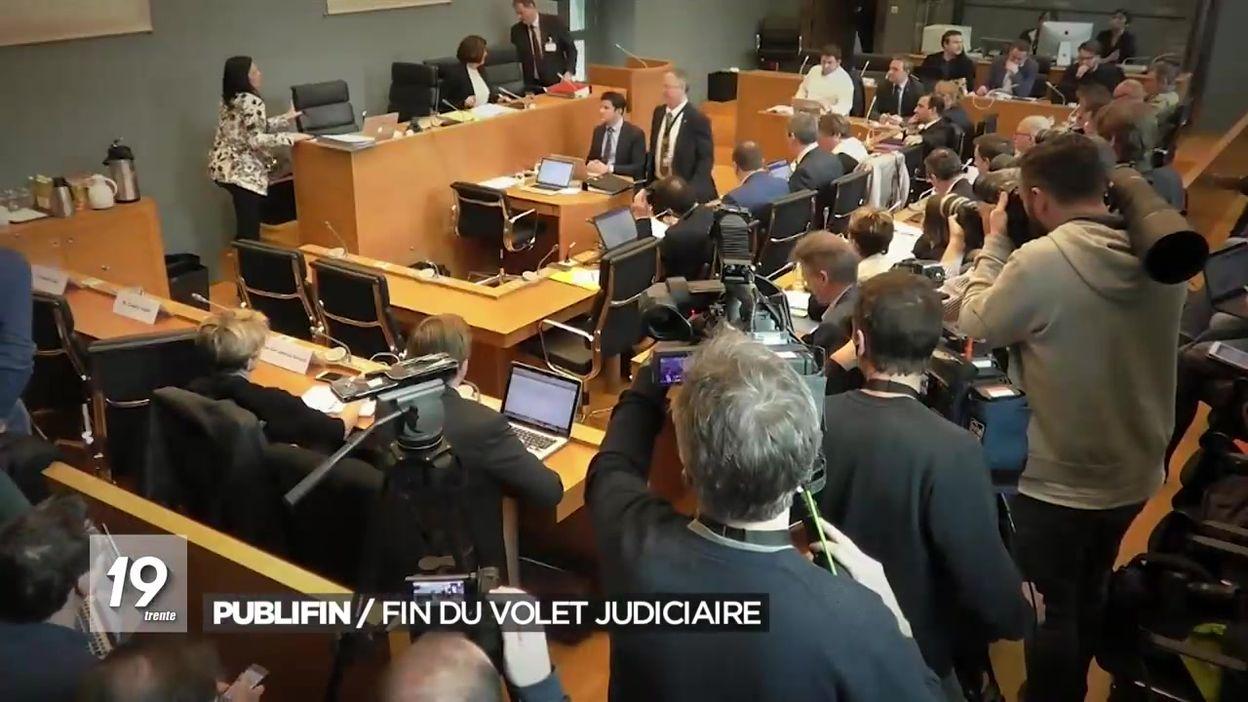 Acquittements dans le procès des comités de secteur de Publifin