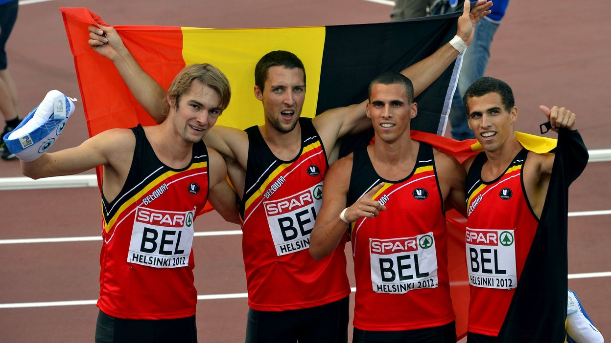 Belgian Tornados - Helsinki 2012 : Médaille d'or