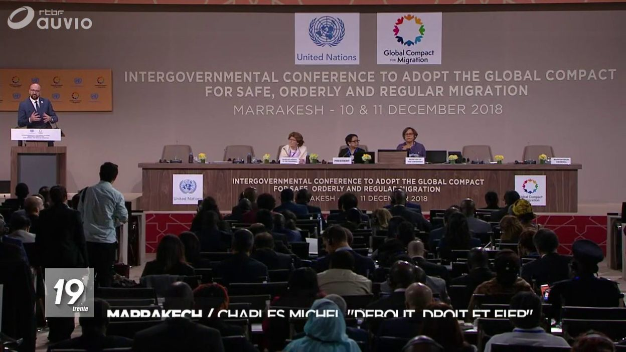 Le pacte des migrations a été approuvé aujourd hui à Marrakech