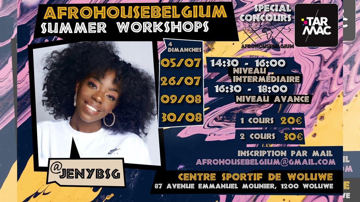 AfroHouseBelgium Workshop 26/07
