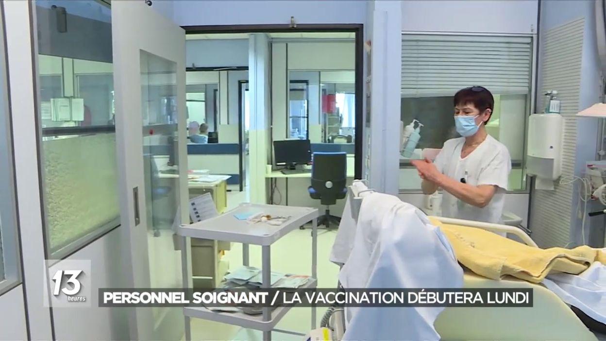 Vaccination dans les hôpitaux: réaction au CHR de la Citadelle