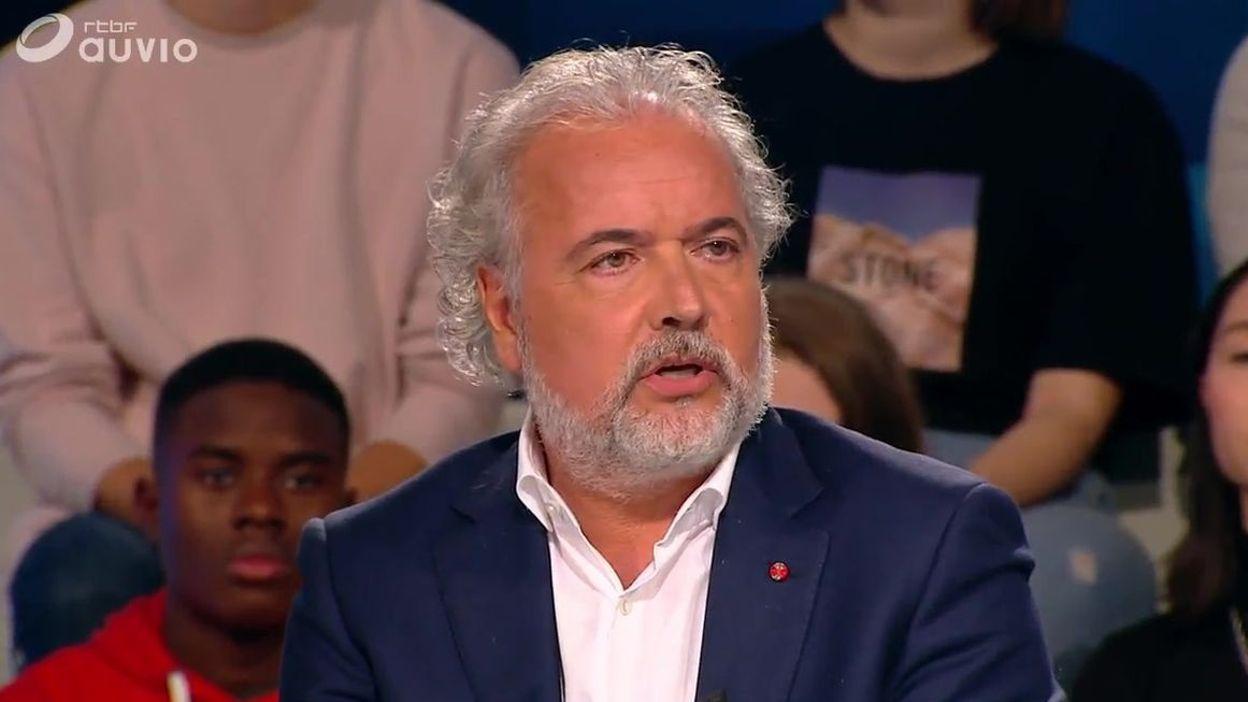 François Fornieri, en marge de l'émission de la Une télé