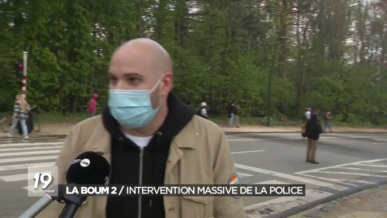 La Boum 2 / Intervention massive de la police