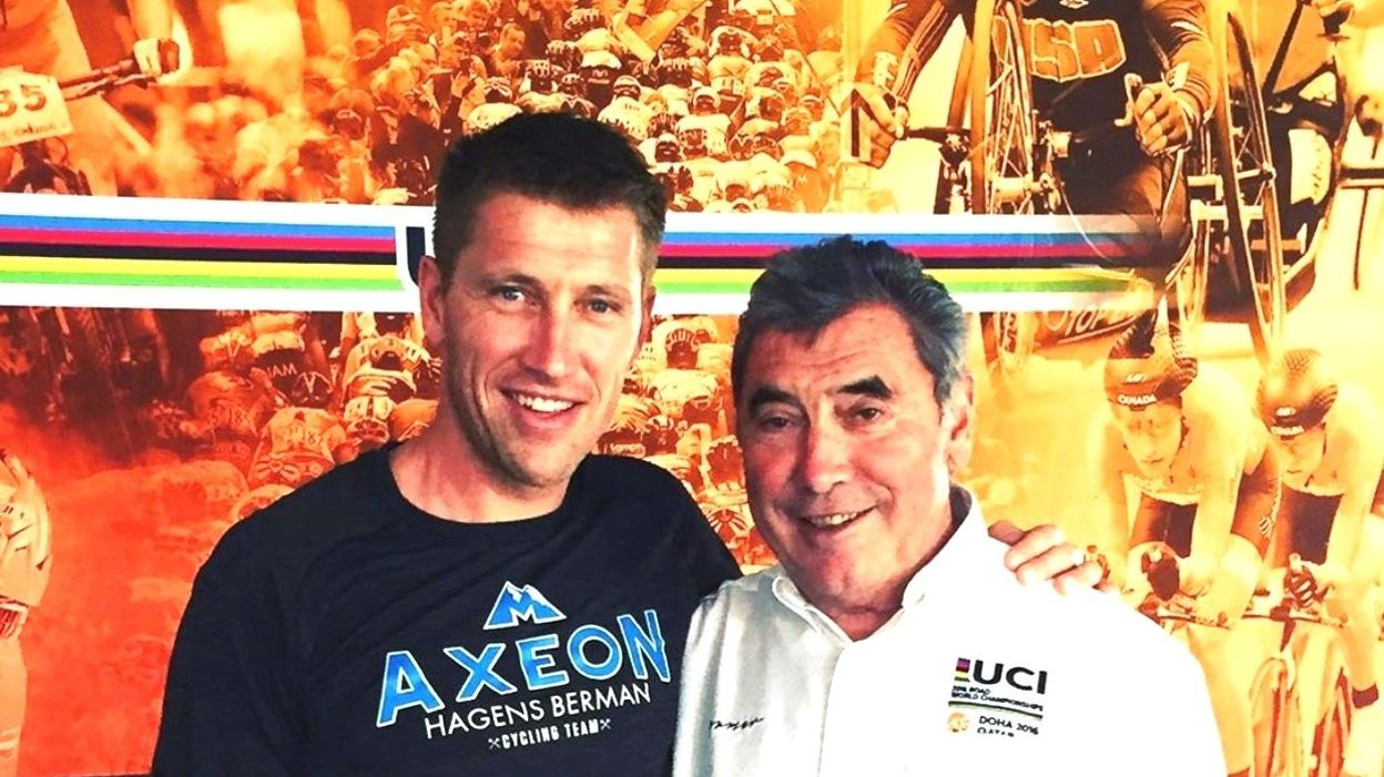 Axel Merckx évoque les 75 ans de son papa Eddy