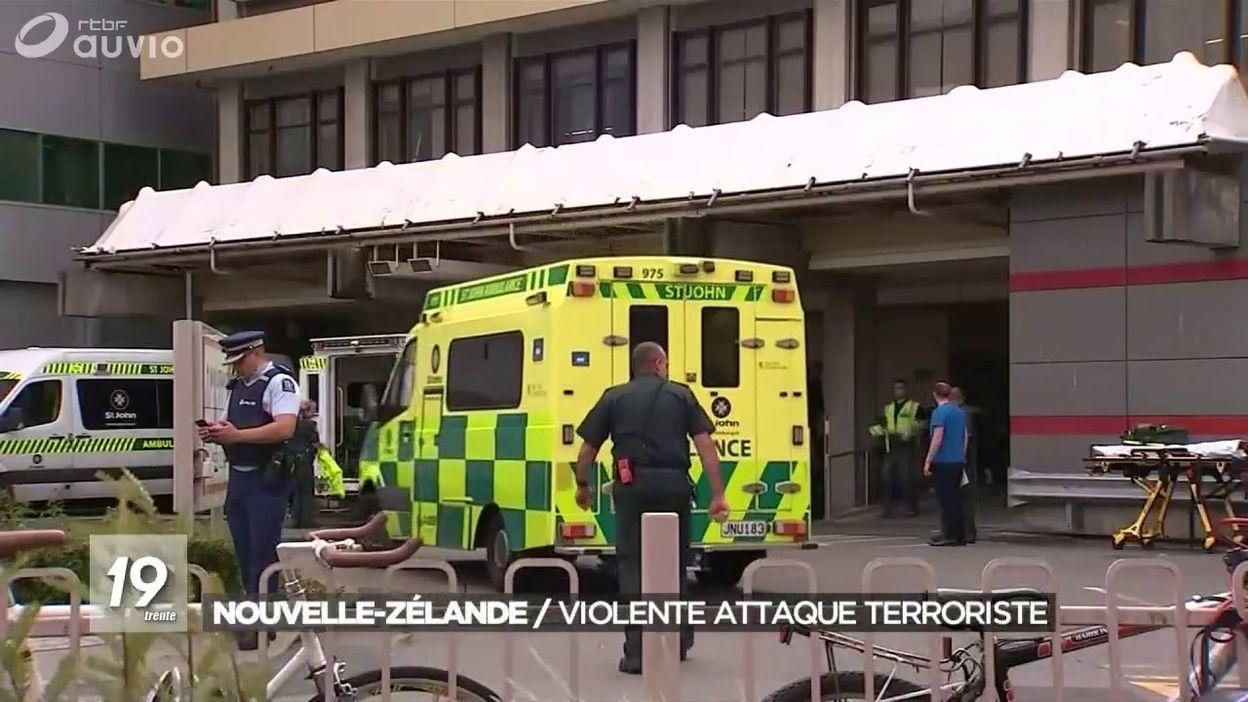 Nouvelle Zélande : attaque meurtrière contre deux mosquées