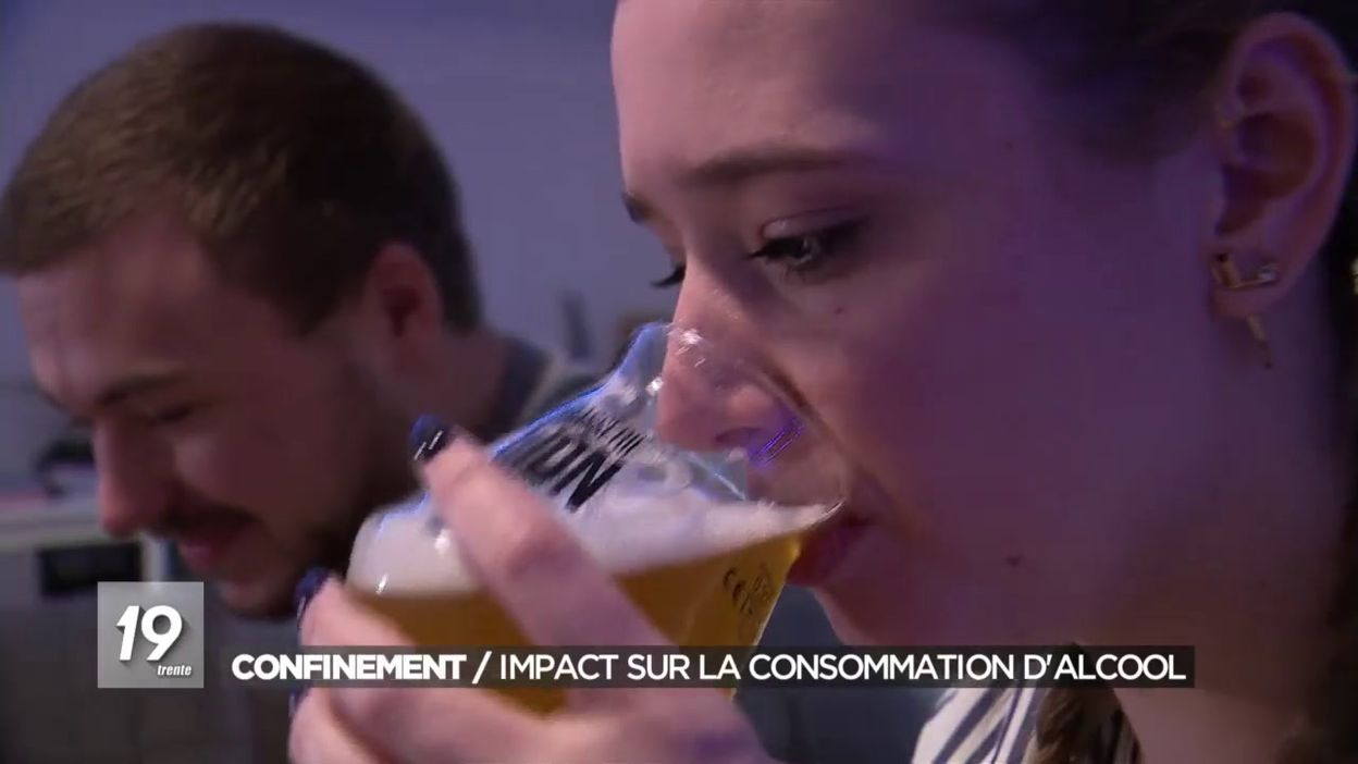 Confinement : impact sur la consommation d alcool