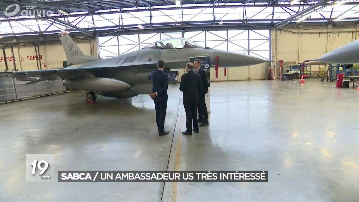 L'ambassadeur américain en visite à la SABCA