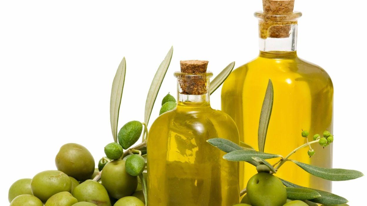 huile olive matin