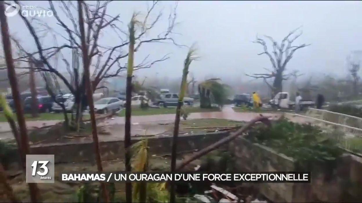 Ouragan Dorian : les Bahamas frappées de plein fouet