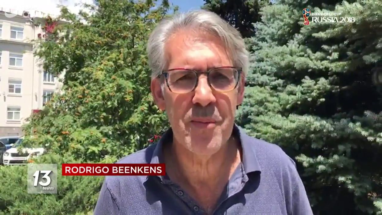 Belgique - Japon : les émotions de Rodrigo Beenkens