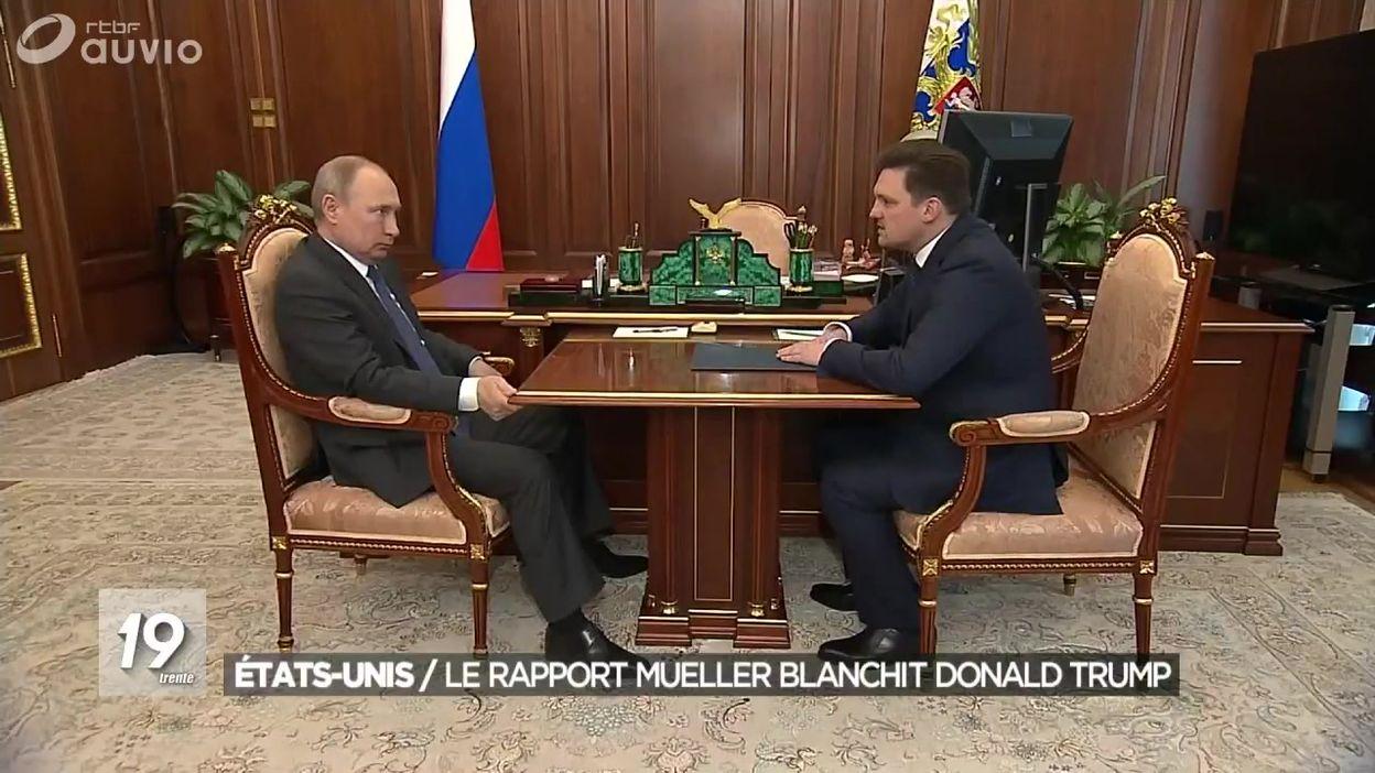 Rapport Mueller : pas de collusion entre Trump et Moscou