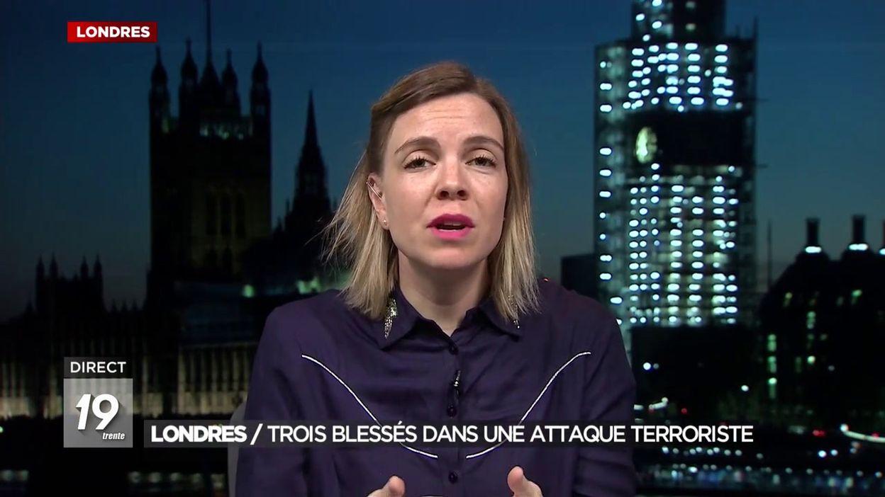 Londres : Un terroriste présumé abattu