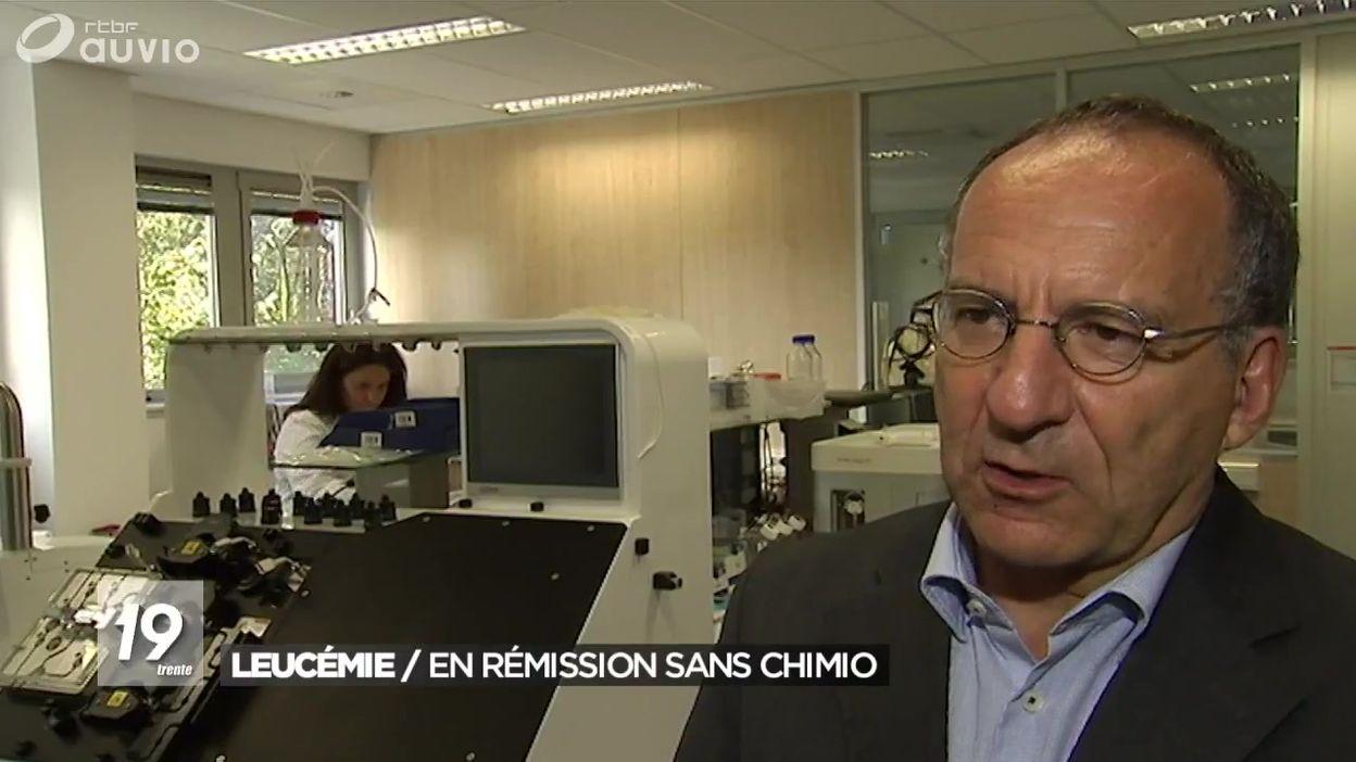 Leucémie : un patient en rémission sans chimiothérapie