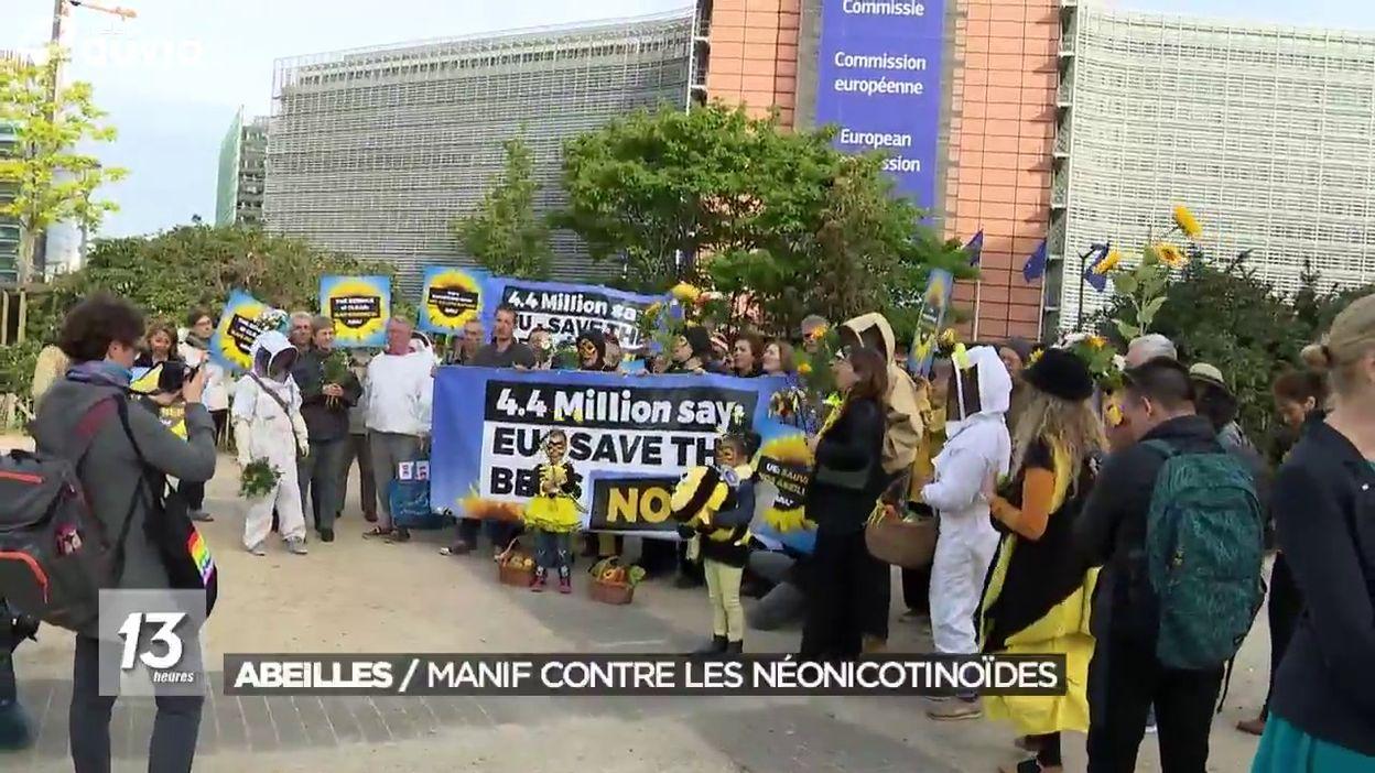 L'UE interdit trois pesticides jugés dangereux pour les abeilles