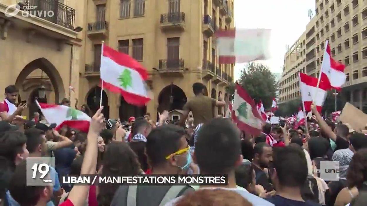 Liban : des manifestations contre le pouvoir