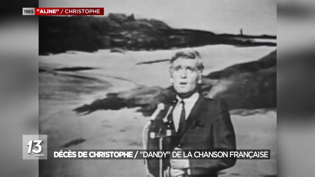 Décès de Christophe, ce dandy de la chanson française