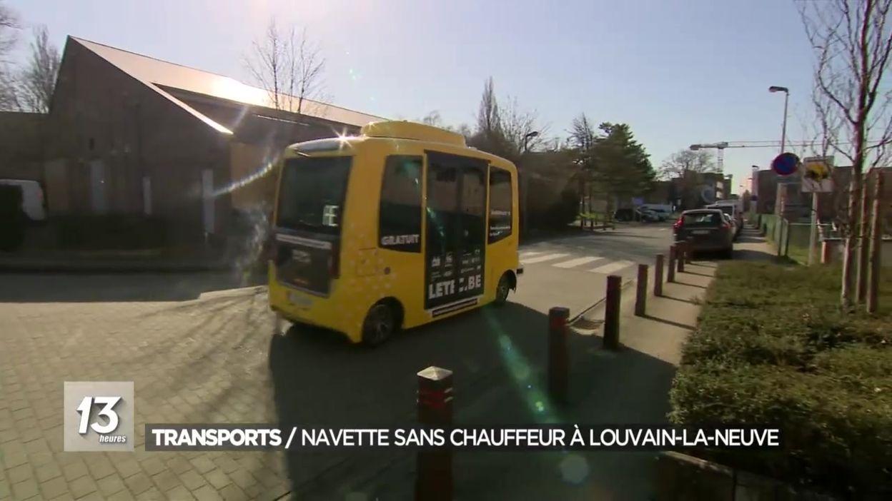 Transports / Navette sans chauffeur à Louvain-La-Neuve