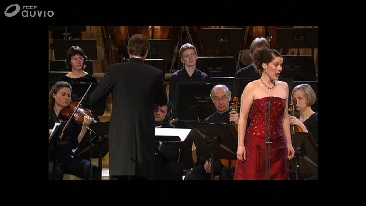 Queen Elisabeth 2004 - chant - Hélène Guilmette - Finale -  Non disperar, chi sà ? de Handel