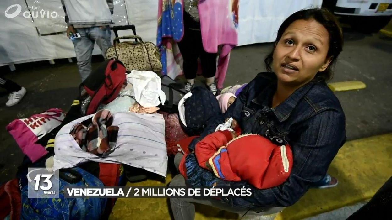 Exode des habitants au Venezuela