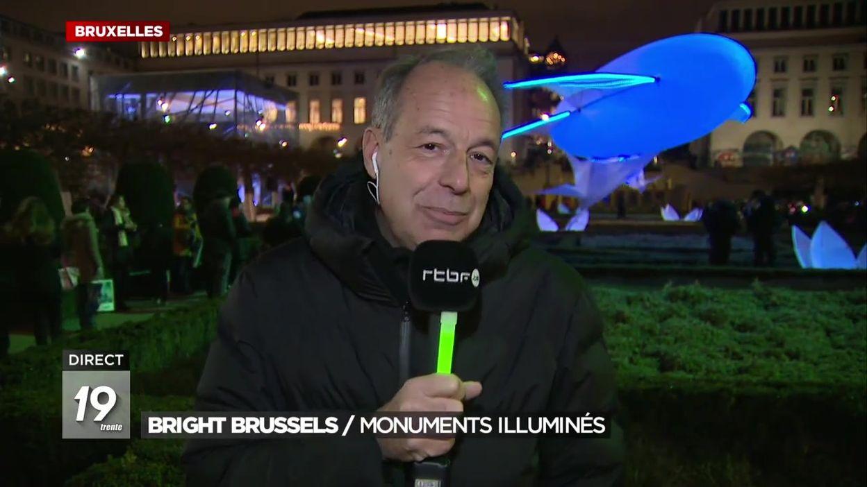 Un nouveau parcours pour le festival des lumières Bright Brussels édition 2020