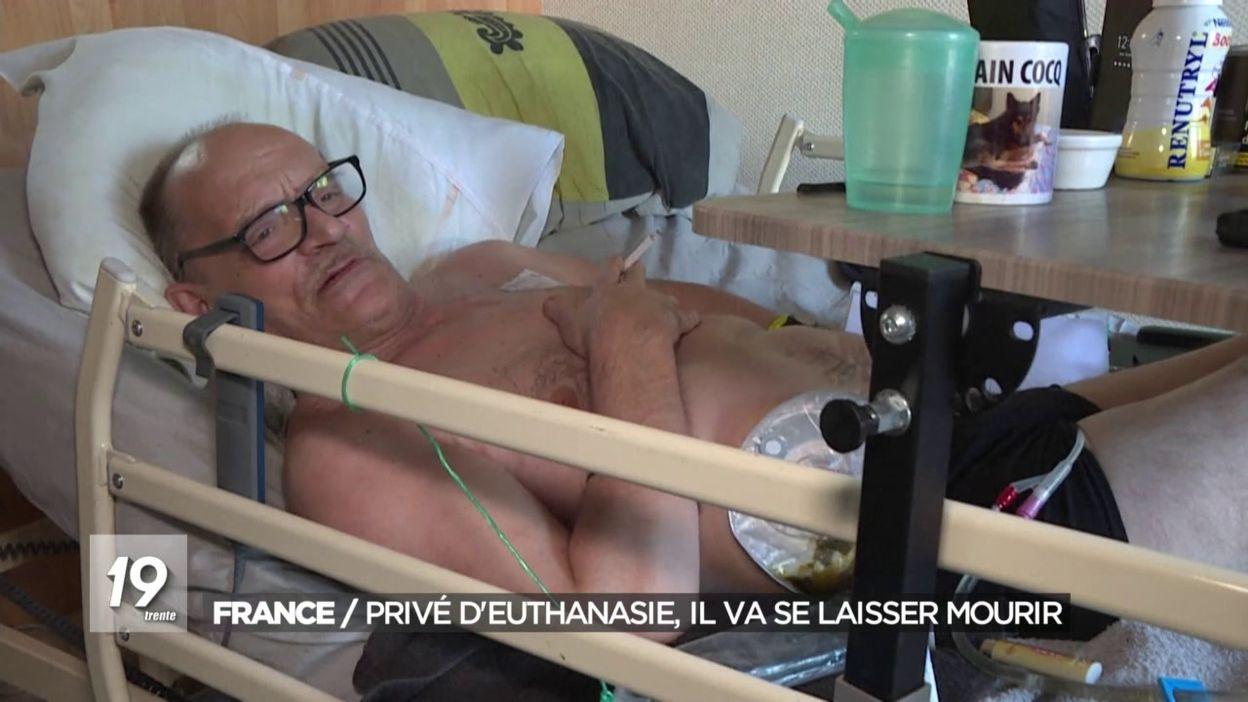 France/privé deuthanasie il va se laisser mourir