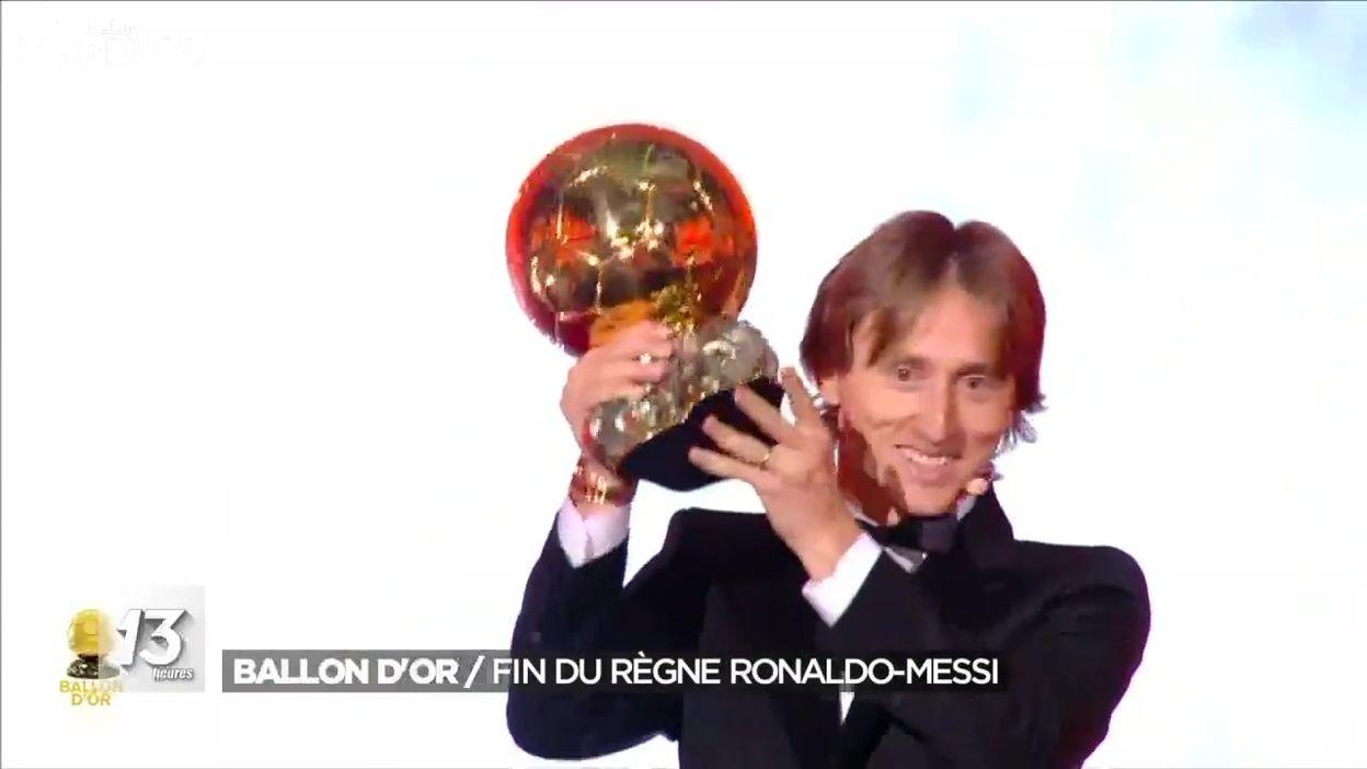 Luka Modric sacré Ballon d'Or 2018
