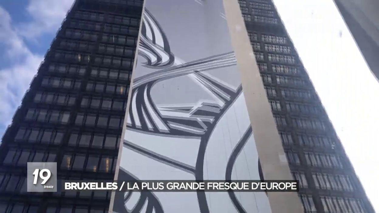 La plus grande oeuvre d art de façade d Europe
