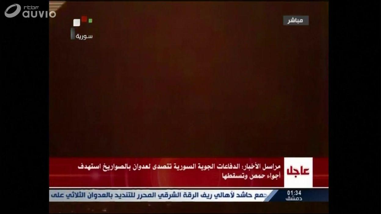 Flou autour de l'origine d'un tir de missile en Syrie la nuit dernière