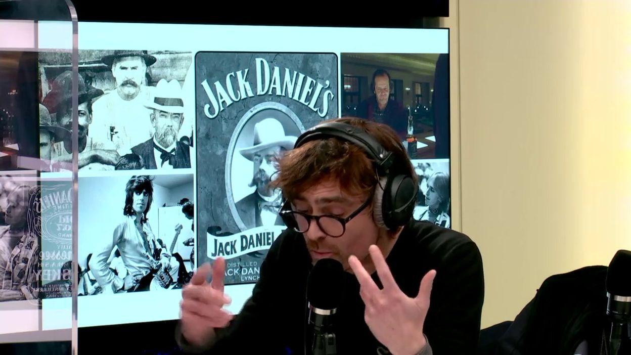 La bouteille de Jack Daniel's