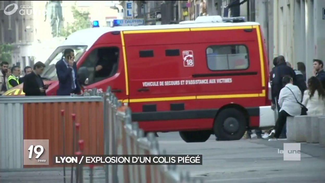 Lyon: Explosion d un colis piégé