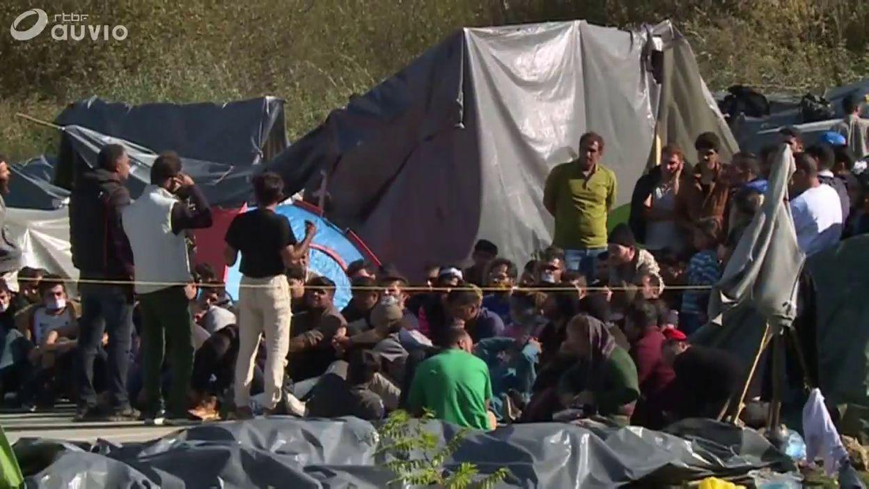 Bosnie: des réfugiés à la frontière croate commençaient une greve de la faim ce 27 octobre