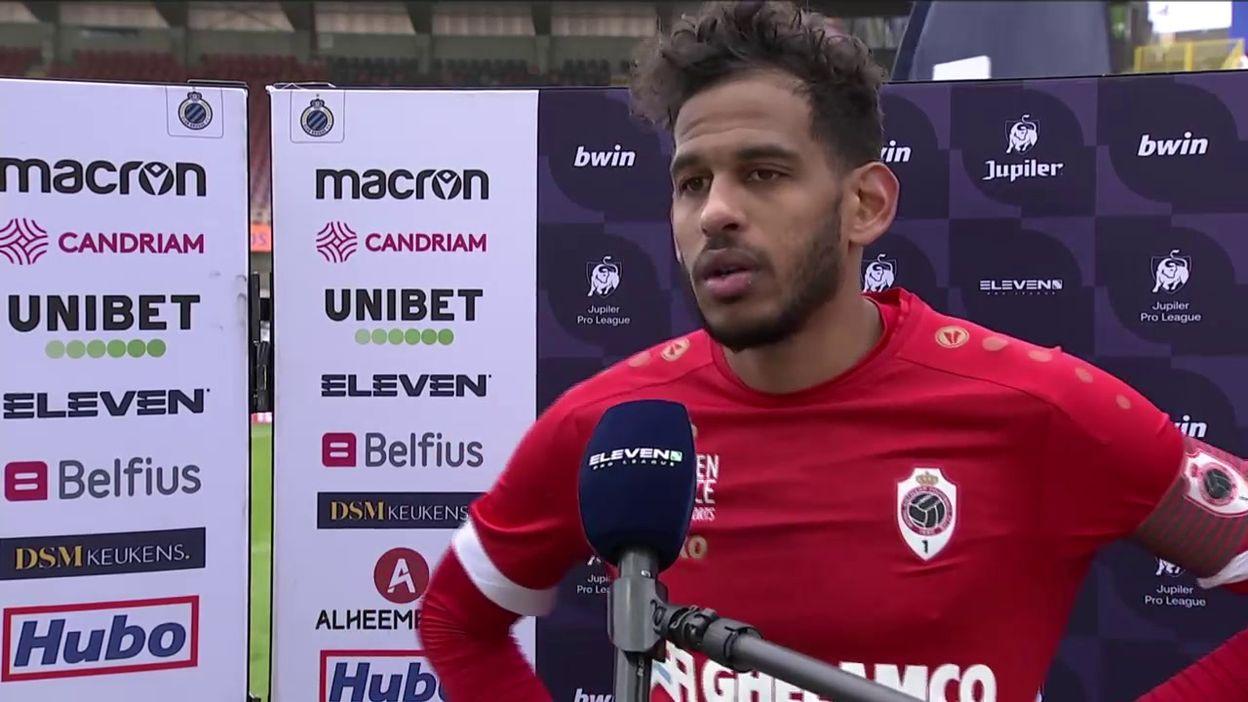 Faris Haroun après la victoire contre le FC Bruges :