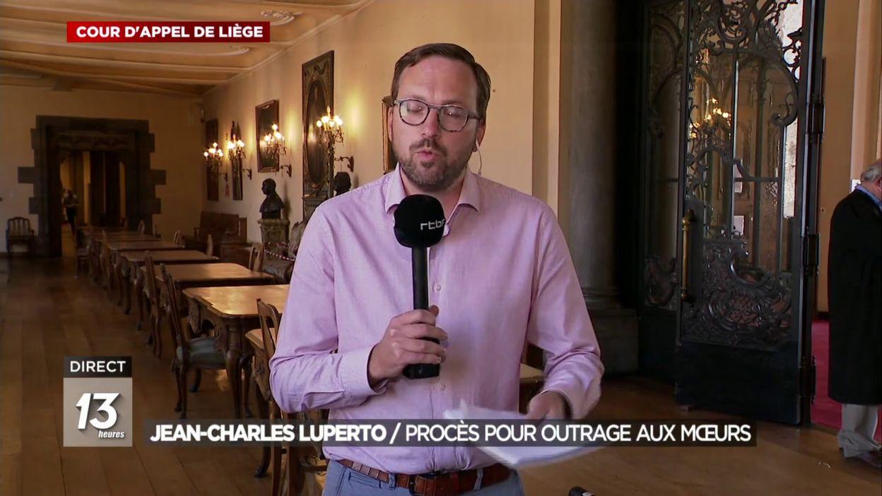 Jean-Charles Luperto : Procès pour outrage aux mœurs
