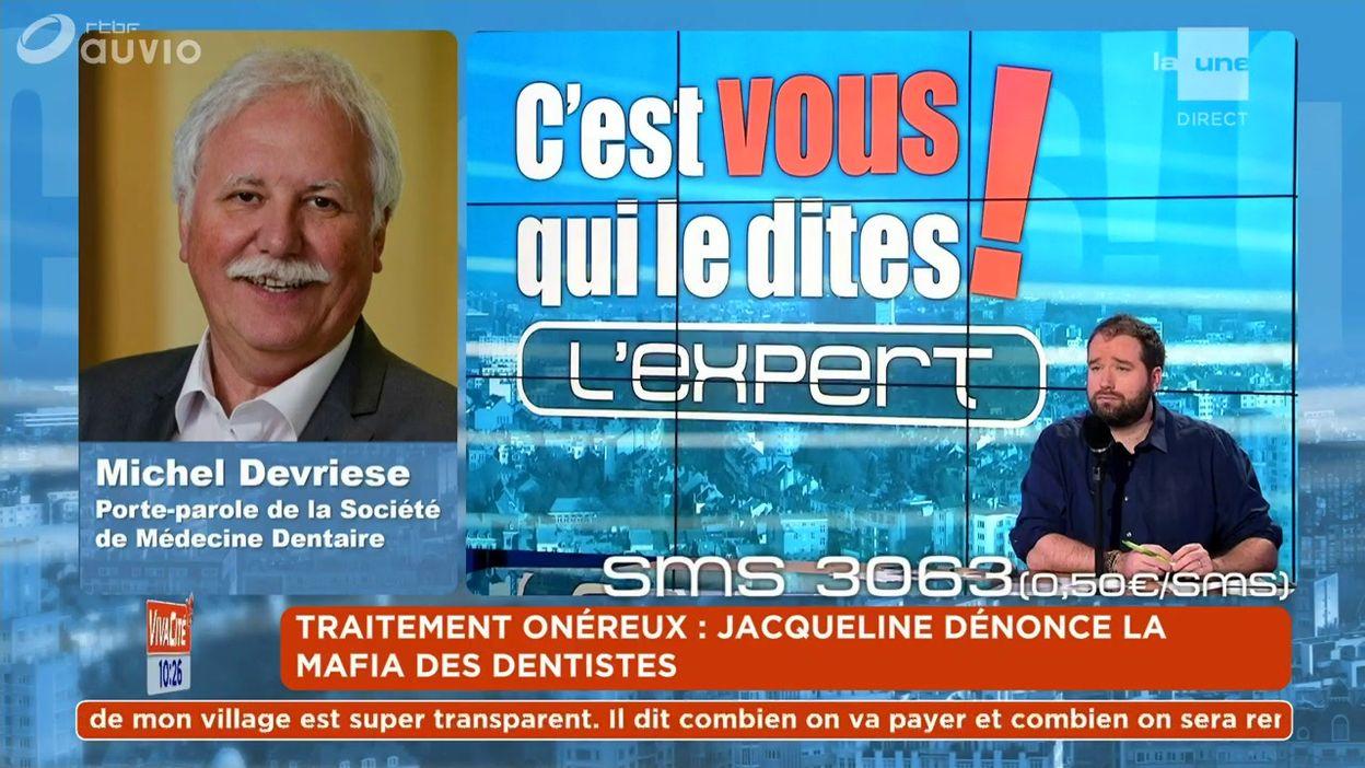 L'expert du débat : Michel Devriese - Porte-parole de la Société de Médecine Dentaire