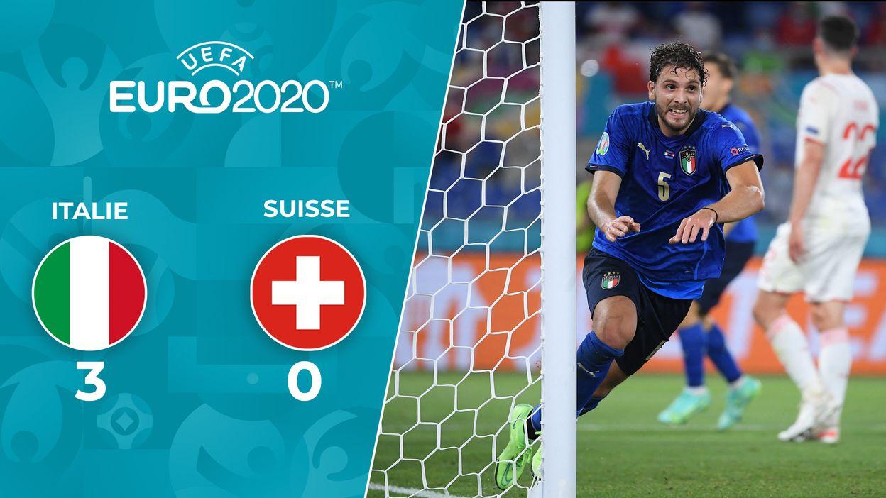 Italie - Suisse : Le Résumé du match