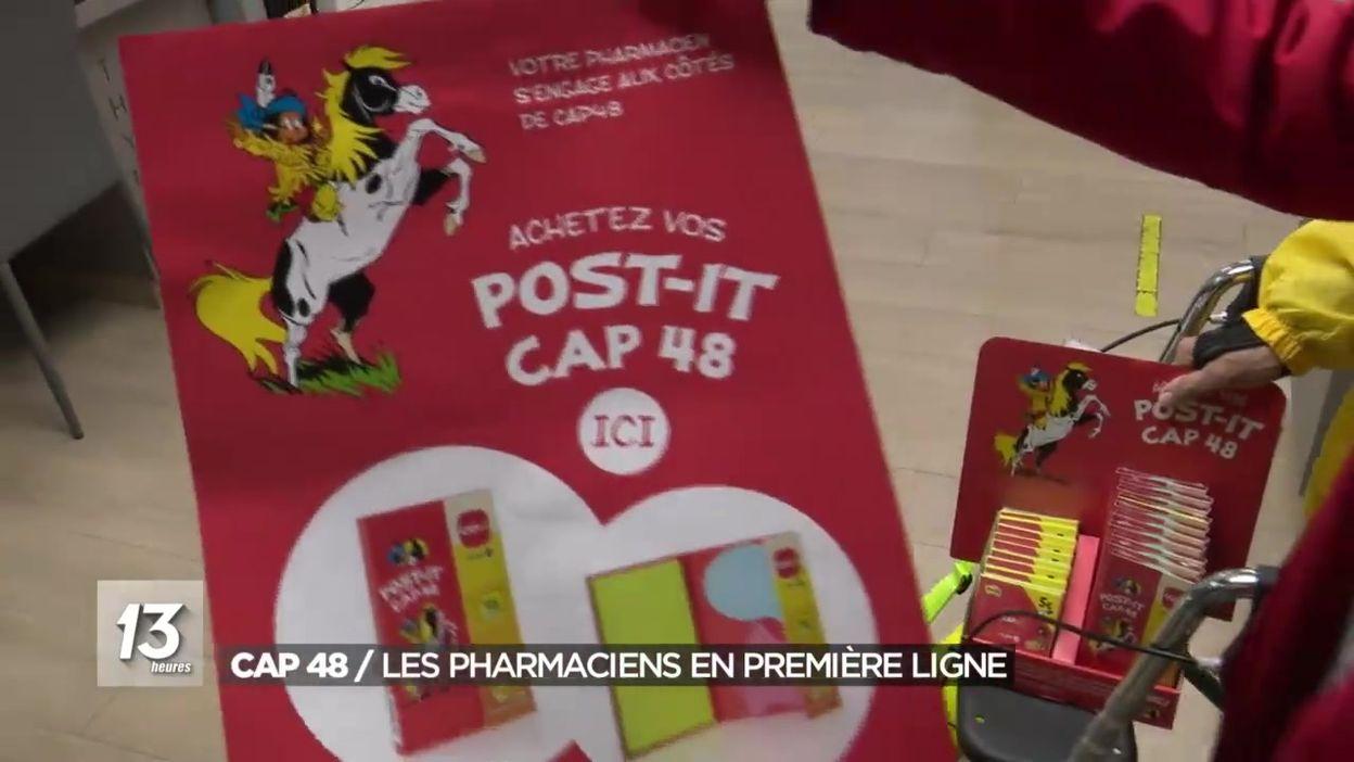 Lancement de la campagne de vente des Post it CAP 48