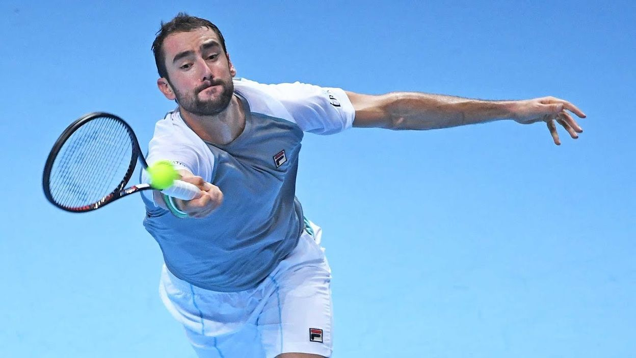... demi-finales du Masters. Highlights  Cilic Claws Past Isner At The 2018  Nitto ATP Finals 030ab67f3c98