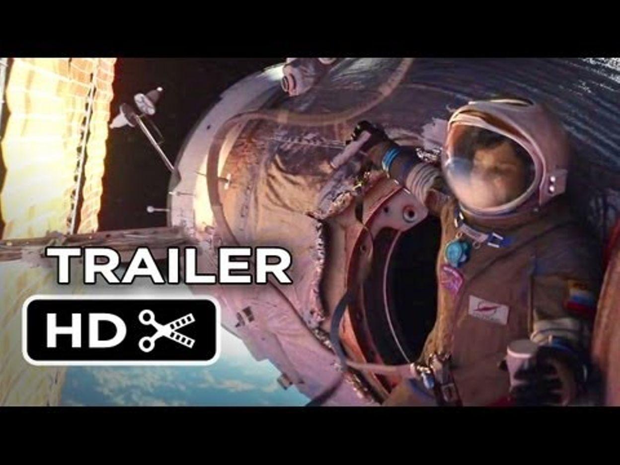 gravity official main trailer (2013) - sandra bullock, george