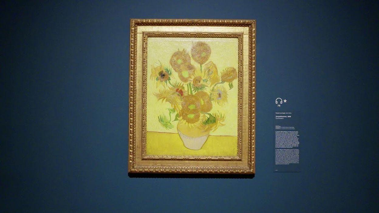 Le Van Gogh Museum d'Amsterdam lance une expo pop up