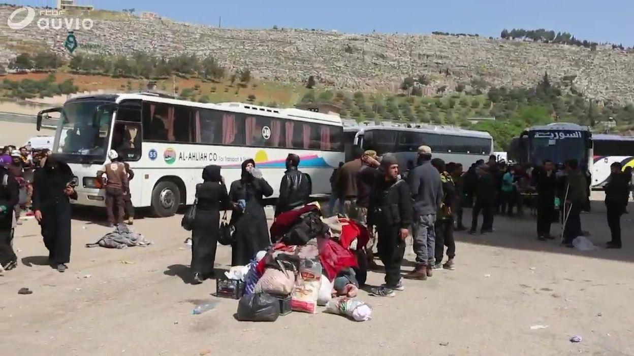 Evacuation de la Ghouta orientale, ce 27 mars