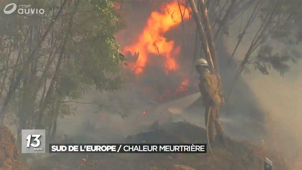 Les incendies en Espagne et au Portugal