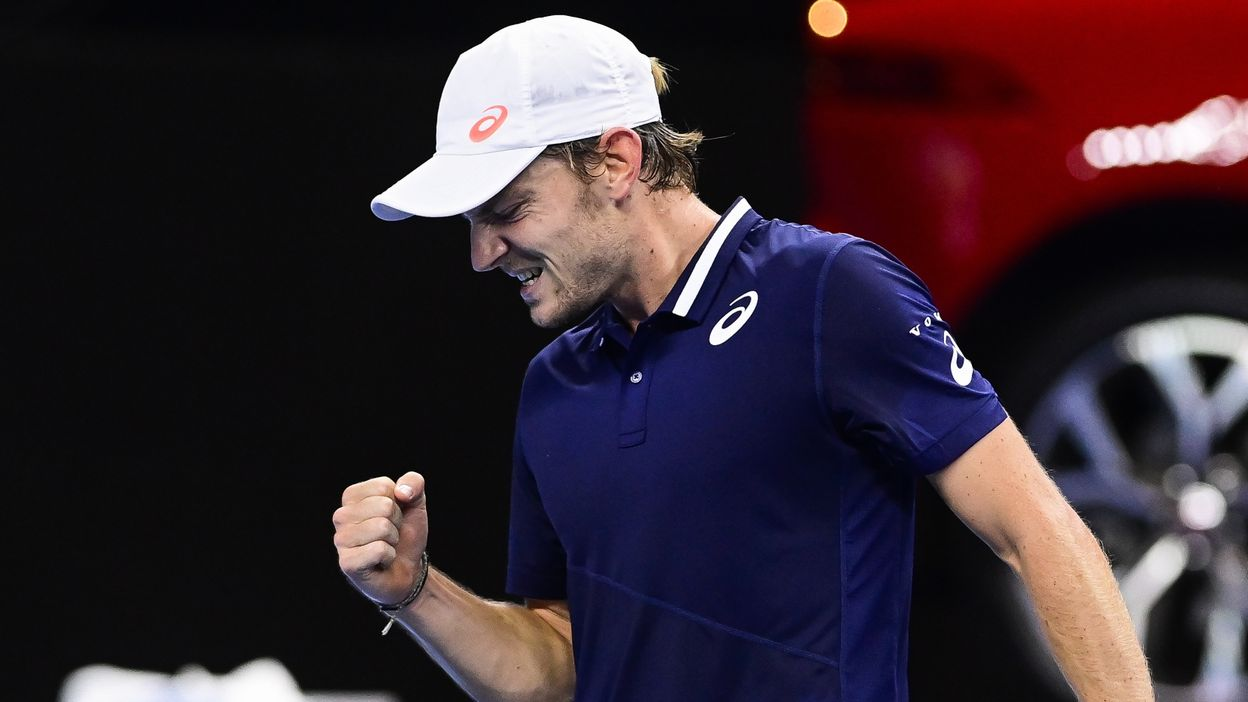 David Goffin évoque sa nouvelle collaboration avec Germain Gigounon
