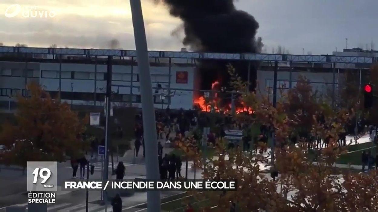 France : incendie dans une école près de Toulouse
