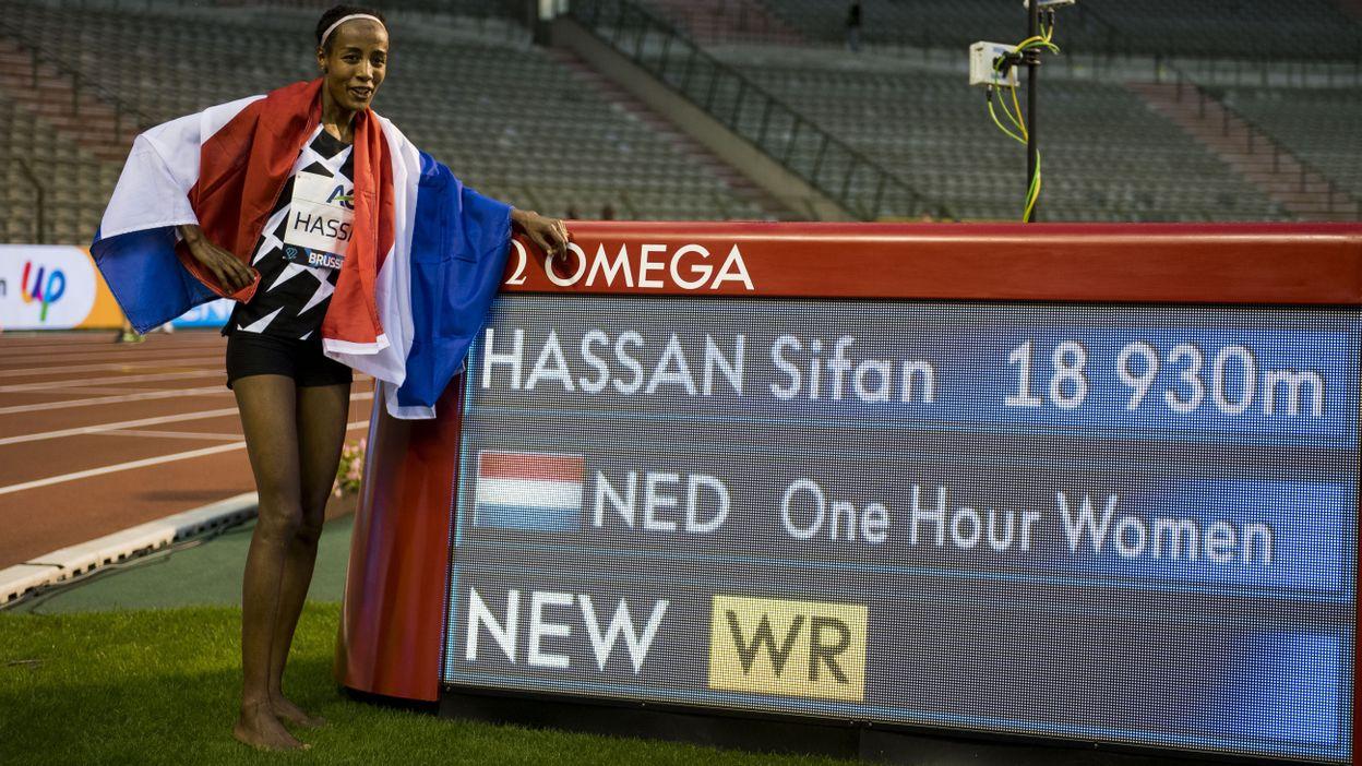 Record de l'heure : Sifan Hassan → 18,930 km (04 septembre 2020)
