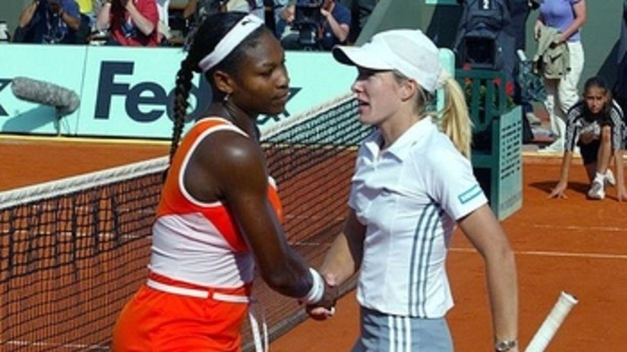 Justine Henin se défait de l'ouragan Serena Williams