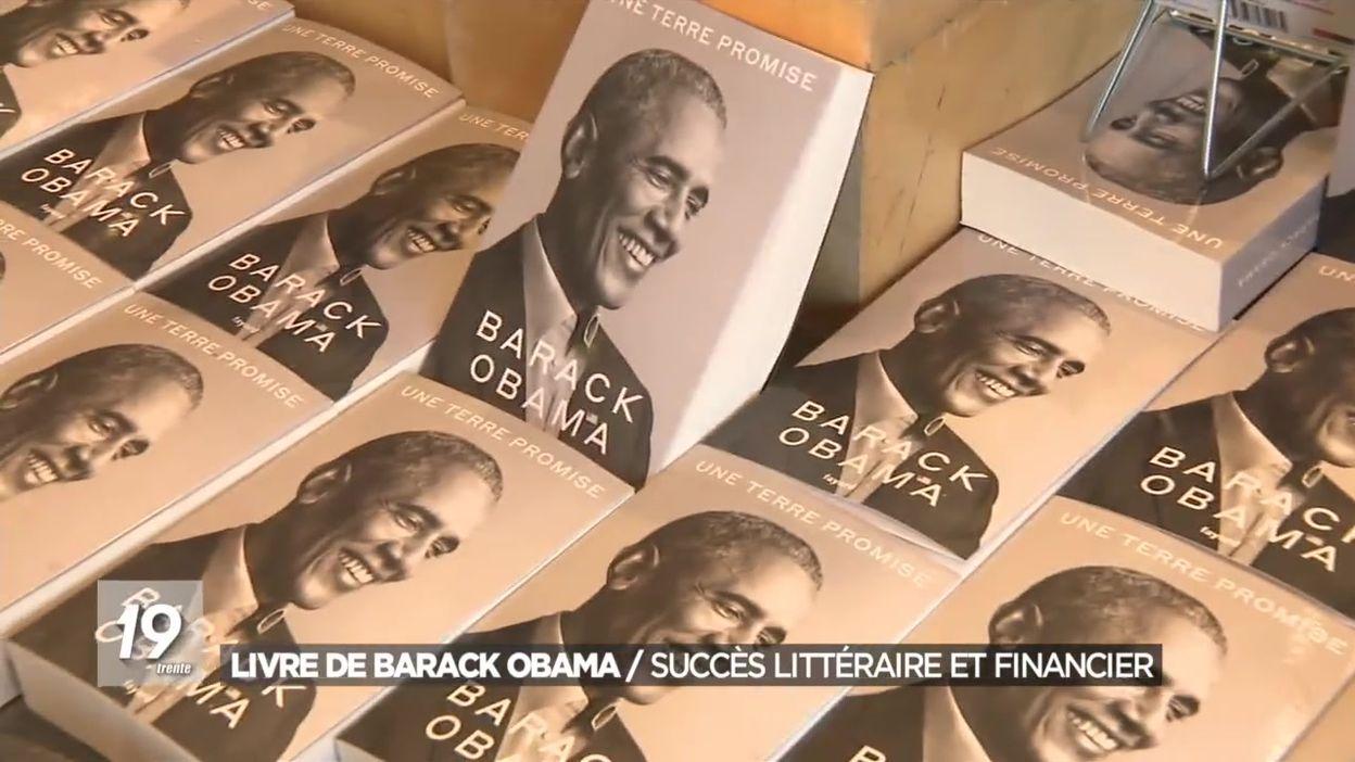 Livre de Barack Obama : succès littéraire et financier