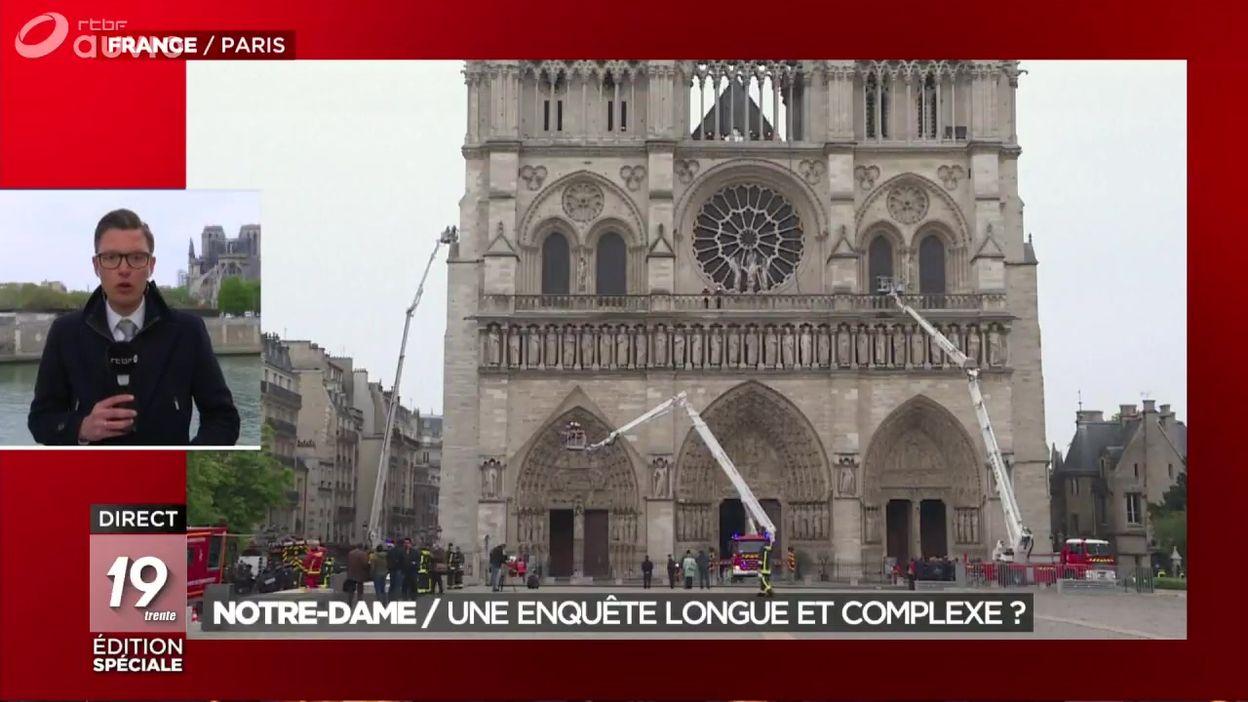 Notre-Dame de Paris : une enquête longue et complexe ?