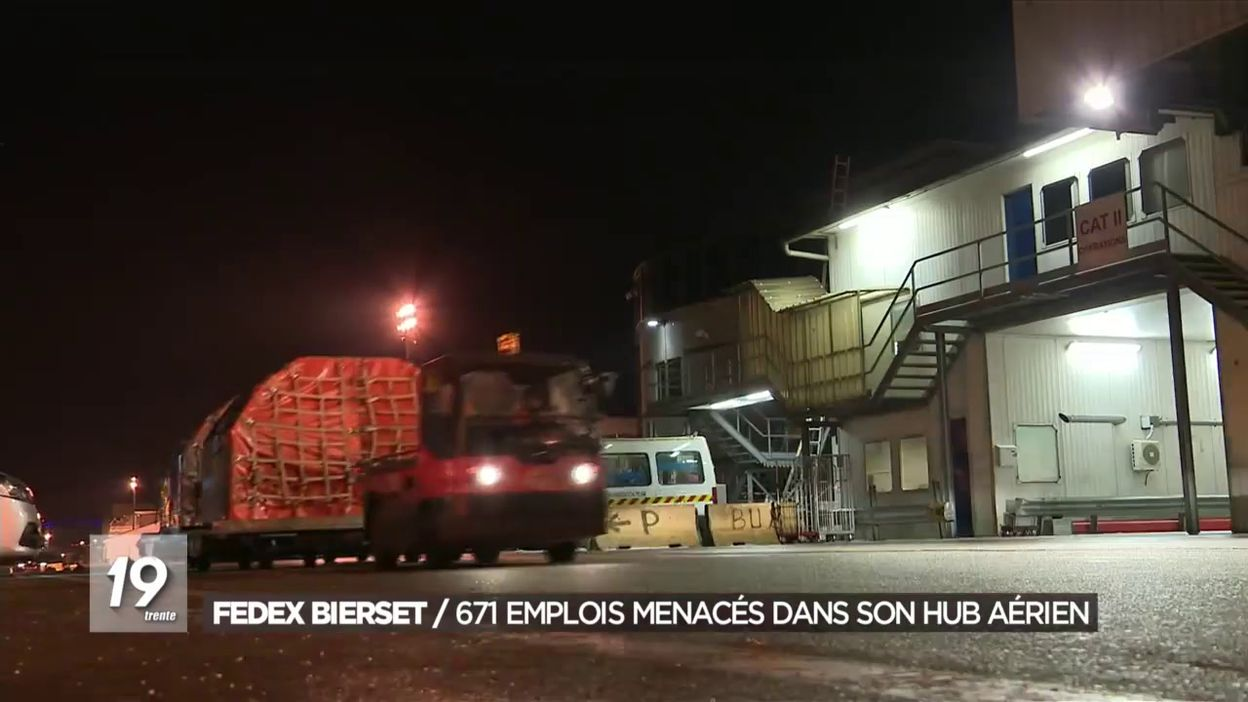 FedEx supprime 671 emplois à Bierset