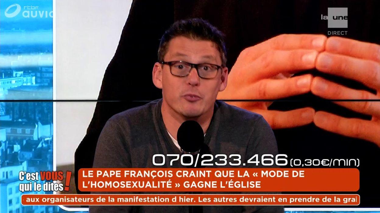Le pape François craint que la « mode de l'homosexualité » gagne l'Église